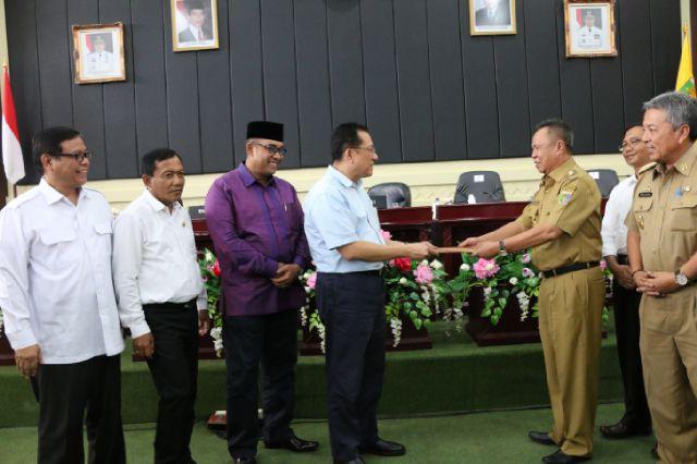 Pemprov Lampung Hibahkan Tanah untuk Pembangunan Kantor DPD RI