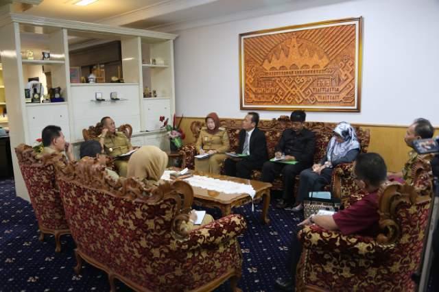 Pemprov Lampung Dukung Digelarnya Pertemuan dan Ekspo Pendidikan Kedokteran Indonesia Ke-8
