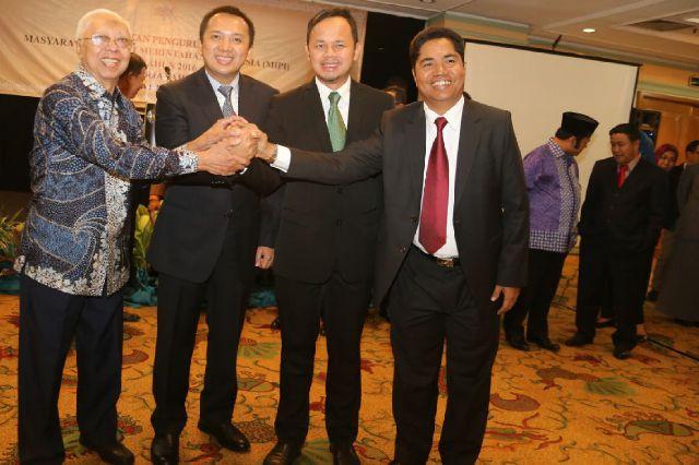 Gubernur Lampung Lantik DPP MIPI (Masyarakat Ilmu Pengetahuan Indonesia)
