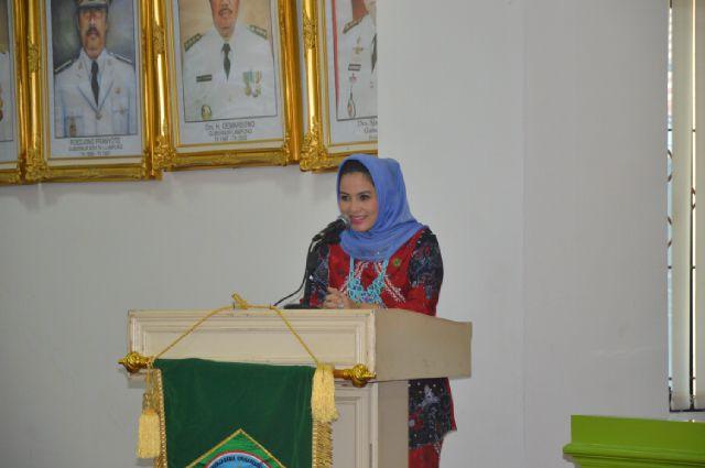 Aprilani Yustin Ficardo Menitipkan 2 Program Prioritas Untuk Dilaksanakan Dalam Agenda Kerja BKOW Lampung