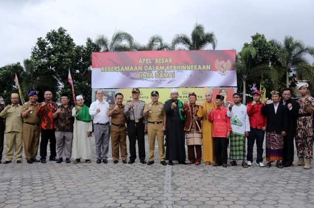 Gubernur Ajak Seluruh Masyarakat Lampung Untuk Menjaga Kebhinekaan Dan Cinta Damai