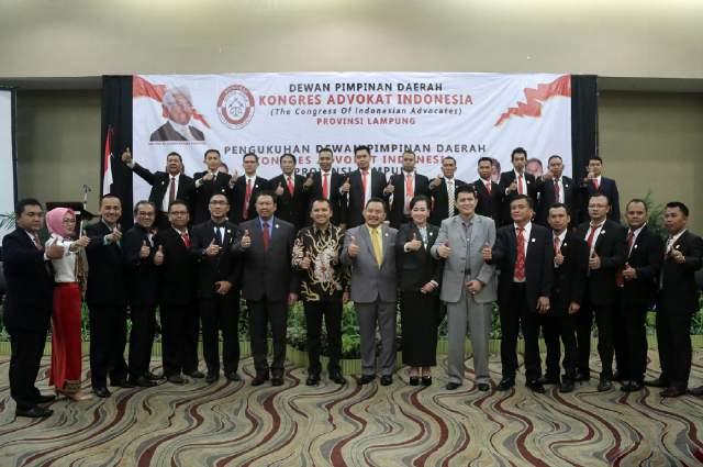 Advokat Lampung Yang Tegabung Dalam KAI Diharapkan Bertanggung jawab, Berdedikasi Tinggi dan Professional