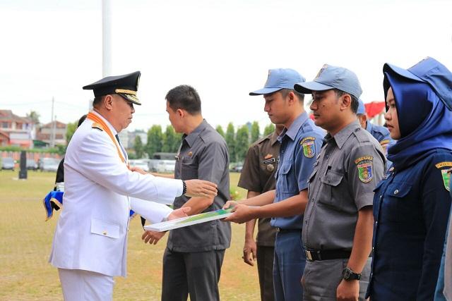 Upacara HUT Lampung ke 53