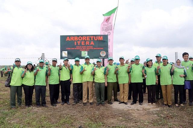 Pemerintah Provinsi Lampung mengapresiasi pembangunan Arboretum ITERA