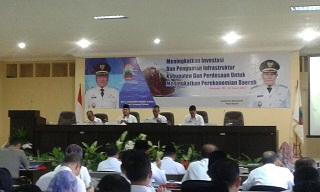 Sekdaprov Memberikan Arahan Pada Musrenbang Lampung Selatan