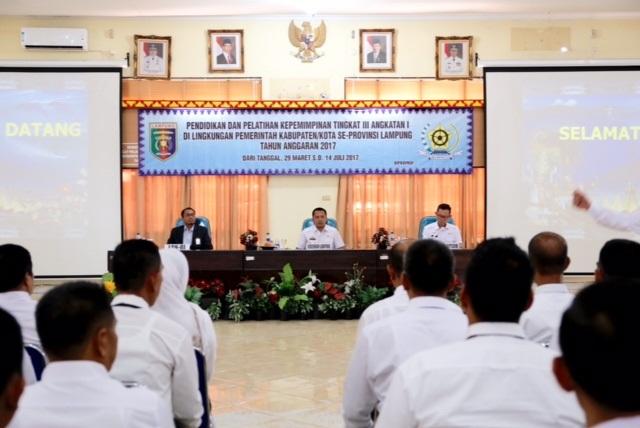 Gubernur Lampung Menilai Aparatur Sipil Negara Dituntut Memiliki Kemampuan Integral