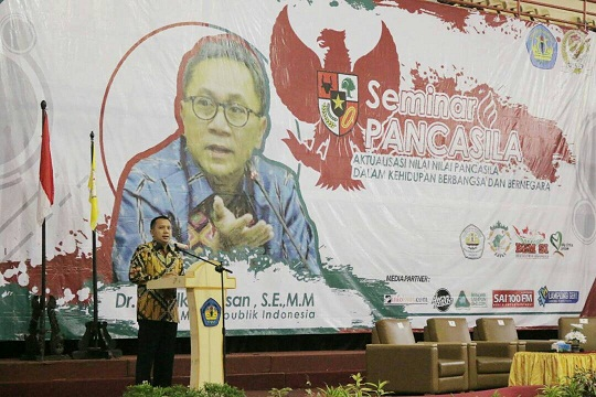 Gubernur Lampung, Pancasila Landasan Ideal Bangsa Indonesia