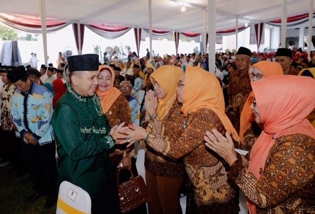 Gubernur Ridho Mohon Dukungan dalam Memimpin Lima Tahun ke Depan