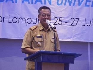 Akses Sanitasi Lampung Mengalami Penigkatan Mencapai 2,94%