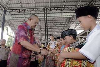 HARGANAS, 1000 Masyarakat Lampung Mengikuti Bhakti Sosial