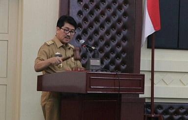 Pemprov Lampung Menggelar Sosialisasi Permedagri APBD 2018