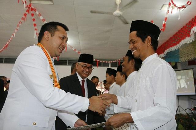 Gubernur Ridho Serahkan Remisi kepada 3.416 Penghuni Lapas se-Lampung